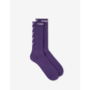 カッパ Kappa Kontroll メンズ ソックス インナー・下着 Logo Socks Purple|fermart-shoes