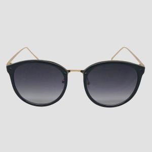 ニューデイ A New Day レディース メガネ・サングラス ラウンド Round Sunglasses - Black|fermart-shoes