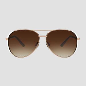 ニューデイ A New Day レディース メガネ・サングラス アビエイター Aviator Metal Sunglasses - Rose Gold|fermart-shoes