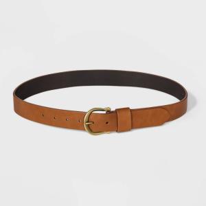 ユニバーサルスレッド Universal Thread レディース ベルト Horseshoe Buckle Belt - Cognac|fermart-shoes