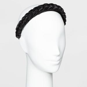 ニューデイ A New Day レディース ヘアアクセサリー ヘッドバンド Braided Hard Headband - Black|fermart-shoes