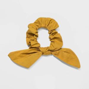 ユニバーサルスレッド Universal Thread レディース ヘアアクセサリー Cotton Woven Fabric Twister with Twist Front Knot Hair Elastics - Yellow|fermart-shoes