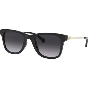 コーチ Coach レディース メガネ・サングラス HC8279U 51mm Female Rectangle Sunglasses black/grey black|fermart-shoes