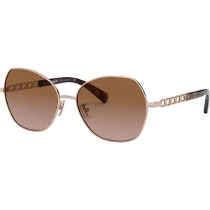 コーチ Coach レディース メガネ・サングラス HC7112 56mm Female Irregular Sunglasses gold/brown|fermart-shoes