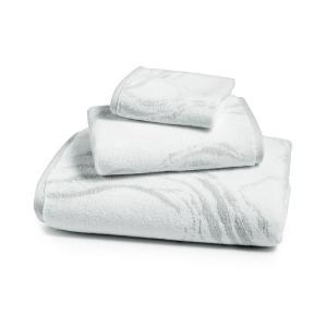 ホテル コレクション Hotel Collection ユニセックス タオル Marble Turkish Cotton Fashion Bath Towel Light Steel|fermart-shoes