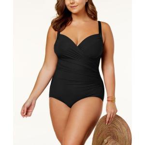 ミラクルスーツ Miraclesuit レディース ワンピース 水着・ビーチウェア Plus Size Sanibel One-Piece Swimsuit Black|fermart-shoes