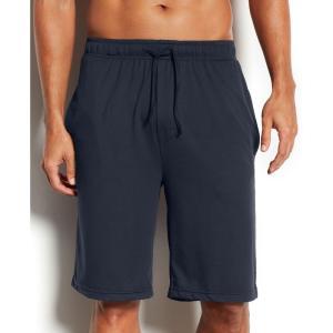 サーティーツーディグリー 32 Degrees メンズ パジャマ・ボトムのみ インナー・下着 Ultra-Soft Hyper Stretch Pajama Shorts Navy fermart-shoes