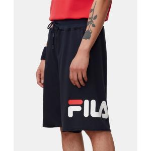 フィラ Fila メンズ ショートパンツ ボトムス・パンツ Logo Graphic Shorts Peacoat|fermart-shoes