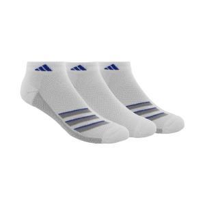 アディダス adidas メンズ ソックス インナー・下着 3-Pk. Superlite Low-Cut Socks White fermart-shoes