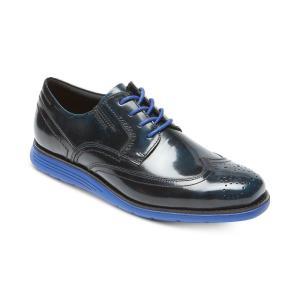 ロックポート Rockport メンズ 革靴・ビジネスシューズ シューズ・靴 Total Motion Sport Dress Wingtip Oxfords Blue|fermart-shoes