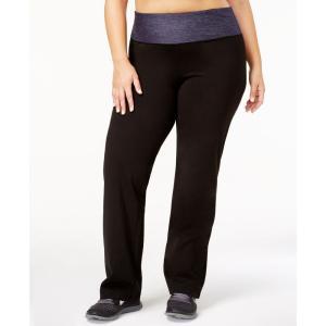 イデオロギー Ideology レディース ボトムス・パンツ ヨガ・ピラティス Plus Size Rapidry Open-Leg Yoga Pants's Navy Serenity|fermart-shoes
