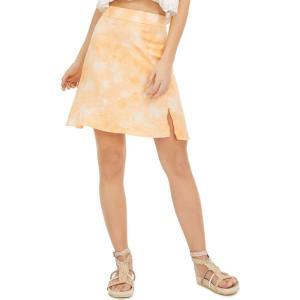 フリーピープル Free People レディース スカート Martine Flirt Tie-Dye Skirt Peach Pit|fermart-shoes