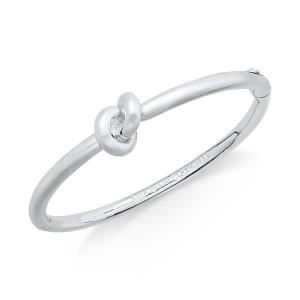 ケイト スペード kate spade new york ユニセックス ブレスレット ジュエリー・アクセサリー Bracelet, Sailor's Knot Hinge Bangle Bracelet Silver|fermart-shoes