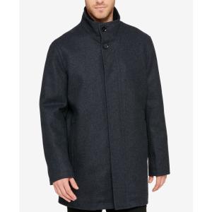 コールハーン Cole Haan メンズ コート アウター Overcoat Charcoal|fermart-shoes