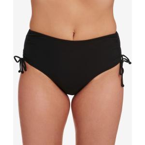 スイム ソルーション Swim Solutions レディース ボトムのみ 水着・ビーチウェア Adjustable Ruched Brief Bottoms Black|fermart-shoes