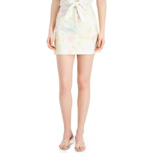 フレンチコネクション French Connection レディース ミニスカート スカート Sade Mini Skirt Iotus Pink Multi|fermart-shoes