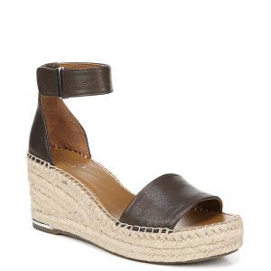 フランコサルト Franco Sarto レディース サンダル・ミュール シューズ・靴 CleWedge Sandals Dark Green|fermart-shoes