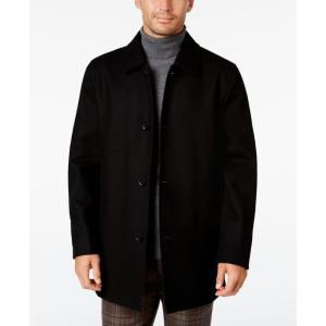 コールハーン Cole Haan メンズ コート アウター Reversible Car Coat Black|fermart-shoes
