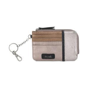 ザ サク The Sak レディース 財布 Iris Card Wallet Metallic Multi/Silver|fermart-shoes