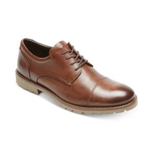 ロックポート Rockport メンズ 革靴・ビジネスシューズ シューズ・靴 Channer Cap-Toe Bluchers Brown/ Brown|fermart-shoes