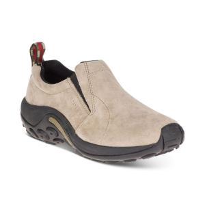 メレル Merrell レディース スリッポン・フラット シューズ・靴 Jungle Moc Slip-On Shoes Taupe|fermart-shoes