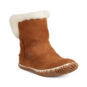 ソレル Sorel レディース スリッパ シューズ・靴 Out N About Bootie Slippers Chesnut|fermart-shoes