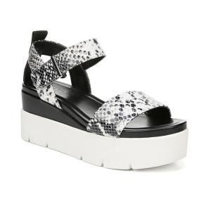 フランコサルト Franco Sarto レディース サンダル・ミュール シューズ・靴 Vanjie Platform Sandals Snake|fermart-shoes