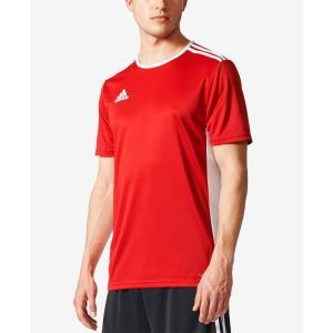 アディダス adidas メンズ サッカー トップス Entrada ClimaLite Soccer Shirt Power Red/White|fermart-shoes
