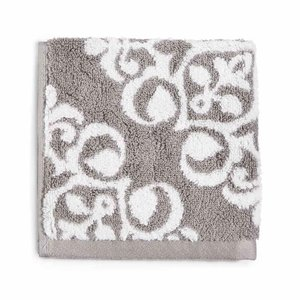 チャータークラブ Charter Club レディース タオル Elite Fashion Medallion Cotton Wash Towel Smoke|fermart-shoes