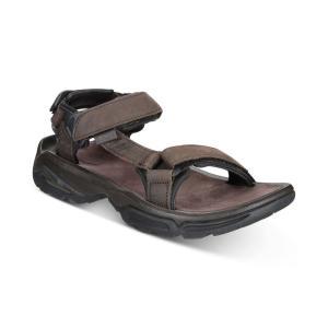 テバ Teva メンズ サンダル シューズ・靴 Terra Fi 4 Water-Resistant Leather Sandals Turkish Coffee fermart-shoes