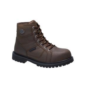 ハーレーダビッドソン Harley Davidson メンズ ブーツ シューズ・靴 Harley-Davidson Lagarto Comp Toe Boot Brn Comp T|fermart-shoes