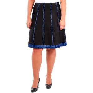 NY コレクション NY Collection レディース スカート 大きいサイズ Plus Size Fit & Flare Pull-On Skirt Raine|fermart-shoes