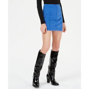 フリーピープル Free People レディース ミニスカート スカート Modern Femme Denim Mini Skirt Turquoise|fermart-shoes