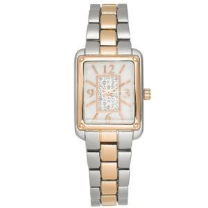 チャータークラブ Charter Club レディース 腕時計 Two-Tone Bracelet Watch 24mm Silver/ros|fermart-shoes