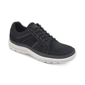 ロックポート Rockport メンズ シューズ・靴 Get Your Kicks Mudguard Blucher Shoes Black|fermart-shoes