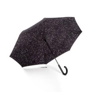 トーツ Totes レディース 傘 InBrella Reverse Close Umbrella Zodiac Black|fermart-shoes