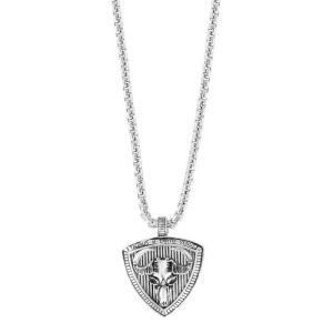 エフィー EFFY Collection メンズ ネックレス ジュエリー・アクセサリー EFFY Zodiac 22 Pendant Necklace in Sterling Silver Taurus|fermart-shoes