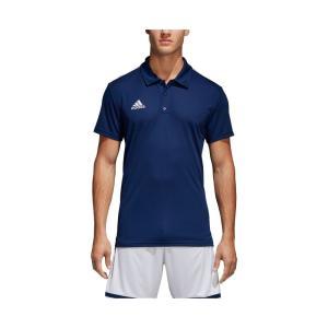 アディダス adidas メンズ サッカー トップス Core18 Soccer Polo Shirt Dark Blue/White|fermart-shoes