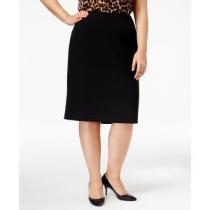 アン クライン Anne Klein レディース ひざ丈スカート スカート Plus Size Pencil Skirt Black fermart-shoes