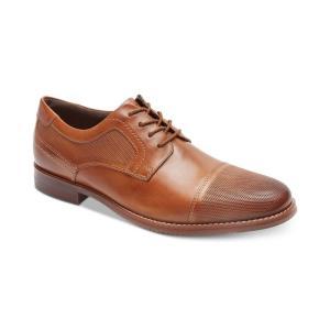 ロックポート Rockport メンズ 革靴・ビジネスシューズ シューズ・靴 Saxxen Cap-Toe Bluchers Brown|fermart-shoes