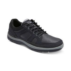 ロックポート Rockport メンズ シューズ・靴 Get Your Kicks Mudguard Blucher Casual Shoes Black|fermart-shoes