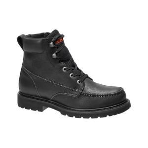 ハーレーダビッドソン Harley Davidson メンズ ブーツ シューズ・靴 Harley-Davidson Markston Motorcycle Riding Boot Blk Boo|fermart-shoes