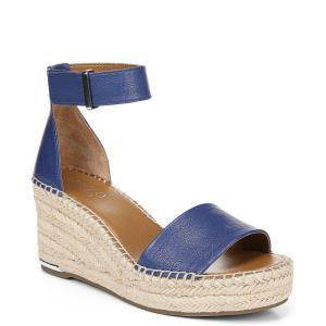 フランコサルト Franco Sarto レディース サンダル・ミュール シューズ・靴 CleWedge Sandals Cobalt Blue|fermart-shoes