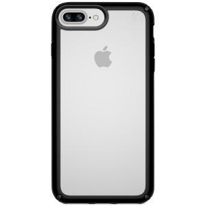 スペック Speck ユニセックス iPhone (8 Plus)ケース Presidio Show iPhone 8 Plus Case Clear/Black|fermart-shoes