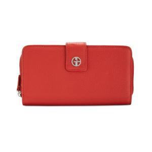 ジャーニ ベルニーニ Giani Bernini レディース 財布 Softy Leather All In One Wallet Red/Silver fermart-shoes