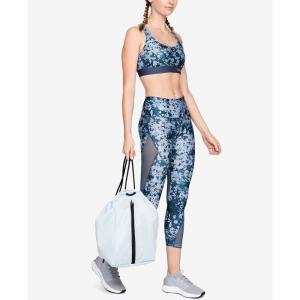 アンダーアーマー Under Armour レディース スパッツ・レギンス インナー・下着 HeatGear Printed Mesh-Inset Compression Leggings Blue/Silver|fermart-shoes