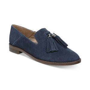 フランコサルト Franco Sarto レディース スリッポン・フラット シューズ・靴 Hadden Loafer Flats Lapis Blue|fermart-shoes