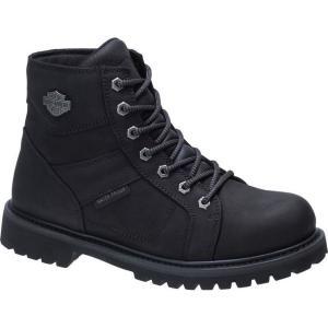 ハーレーダビッドソン Harley Davidson メンズ ブーツ シューズ・靴 Harley-Davidson Lagarto Comp Toe Boot Blk Comp T|fermart-shoes