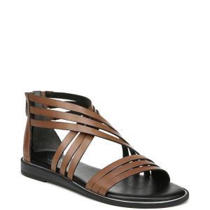 フランコサルト Franco Sarto レディース サンダル・ミュール シューズ・靴 Gaetana Flat Sandals Brown|fermart-shoes