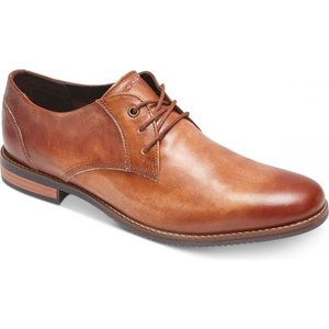 ロックポート Rockport メンズ 革靴・ビジネスシューズ シューズ・靴 Style Purpose Blucher Leather Oxfords Cognac Leather|fermart-shoes